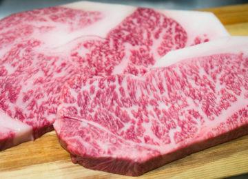 Kobe-Rindfleisch essen in Japan